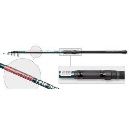Удочка с кольцами Akara Amazon 40014. 5 м. стекловолокно. тест: 10-30 г. 390 г