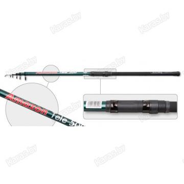 Удочка с кольцами Akara Amazon 40014. 6 м. стекловолокно. тест: 10-30 г. 530 г