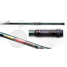 Удочка с кольцами Akara Power Black. 5 м. стекловолокно. тест: 20-40 г. 380 г