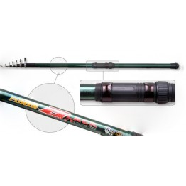 Удочка с кольцами Akara Power Black, 6 м, стекловолокно, тест: 20-40 г, 520 г