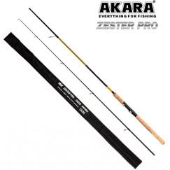 Спиннинг Akara Zester Pro TX-20, углеволокно, 2.4 м, тест: 3-18 г, 150 г