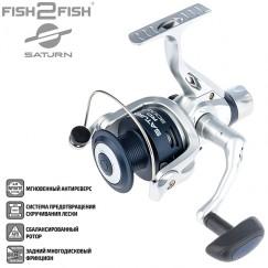 Безынерционная катушка Fish2Fish Saturn F2FSRD3000-4