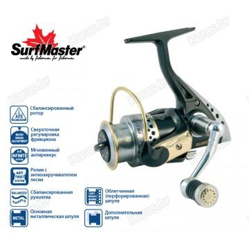 Безынерционая катушка Surf Master Prestige PS 3000A. 6 ш.п. + 2 р.п.