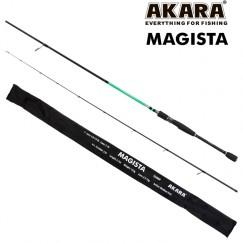 Спиннинг Akara Magista 702MHMF, углеволокно, штекерный, 2.1 м, тест: 10,5-35 г, 125 г