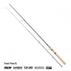 Спиннинг Akara Trout Time EL UL, углеволокно, штекерный, 1,98 м, тест: 0,5-4,5 г, 86 г