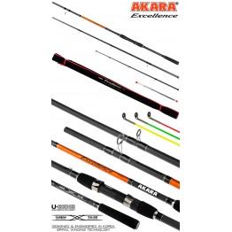 Удилище фидерное Akara Excellence Feeder TX-30, углеволокно, 3.3 м, тест: 90-120-150 г, 240 г