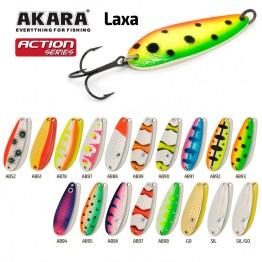 Блесна колеблющаяся Akara Action Series Laxa (60мм/13г)