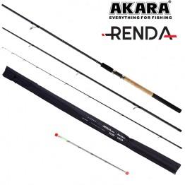 Удилище фидерное Akara Renda Feeder TX-20, углеволокно, 3.3 м, тест: 40-80-120 г, 350 г