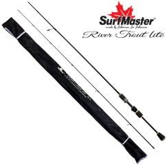 Спиннинг Surf Master River Trout UL, углепластик, штекерный, 1,8 м, тест: 0,6-6 г, 76 г