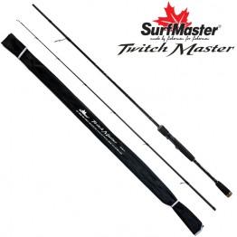 Спиннинг Surf Master Twich Master M, углепластик, штекерный, 1,98 м, тест: 5-15 г, 110 г