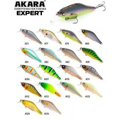 Воблер Akara Expert 70F (9 гр)
