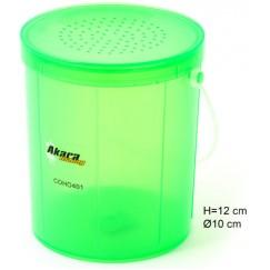 Коробка Akara COHO401 для червя 12х10см