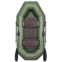 Надувная 2-местная ПВХ лодка Аква Оптима 240
