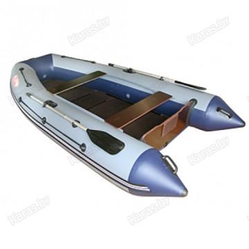 Надувная 3-х местная ПВХ лодка Angler AN 320XL