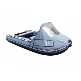 Надувная 3-х местная ПВХ лодка Reef 320KC+ люкс (носовой тент и накладки на банку)