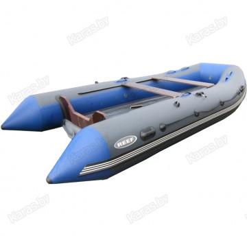 Надувная 3-x местная ПВХ лодка Reef Тритон-340 нд