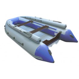 Надувная 3-x местная ПВХ лодка Reef Тритон-340F нд