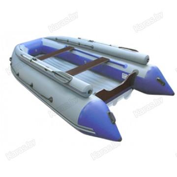 Надувная 6-и местная ПВХ лодка Reef Тритон-420F нд