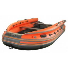 Надувная 5-местная ПВХ лодка Reef Скат 350 NDF (Надувное дно, фальшборт)
