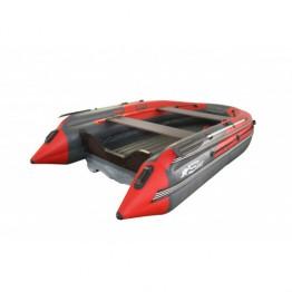 Надувная 9-местная ПВХ лодка Reef Скат 450 NDFI (Надувное дно, интегрированный фальшборт)
