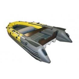 Надувная 5-местная ПВХ лодка Reef Скат-Тритон 350 (Надувное дно)