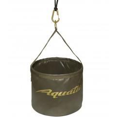 Ведро мягкое Aquatic В-08Х со шнуром, 5л (20х16см)