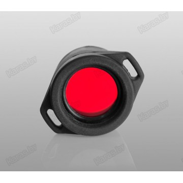 Красный фильтр Armytek AF-24 для фонарей Armytek Partner и Prime