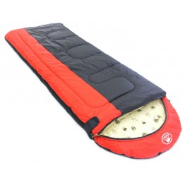 Спальный мешок-одеяло Balmax Alaska Camping Plus 230x85 см с подголовником (-15°С)