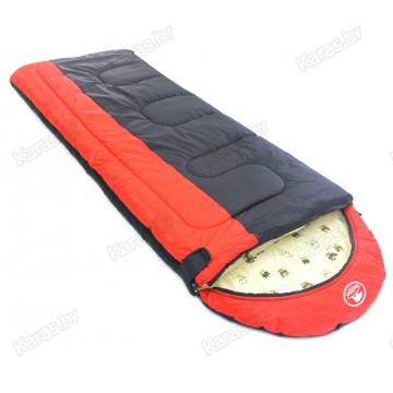 Спальный мешок-одеяло Balmax Alaska Expert 250x90 см с подголовником и москитной сеткой (0°С)
