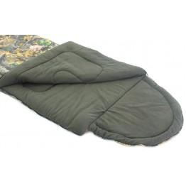Спальный мешок-одеяло Balmax Alaska Standart 250x90 см с подголовником (-20°С, на флисе)