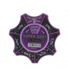 Набор грузил Balsax Super Soft 100г, 0.64-1.50г