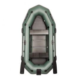 Надувная 3-ёх местная ПВХ лодка BARK B-280NPD с передвижными сидениями