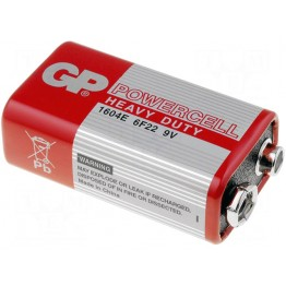 Батарейка GP Powercell Heavy Duty 9V 1604E