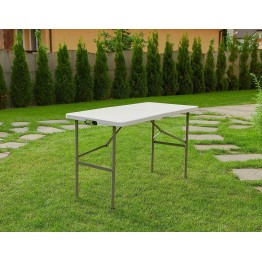 Стол складной Calviano 122x60x74 см (пластик)