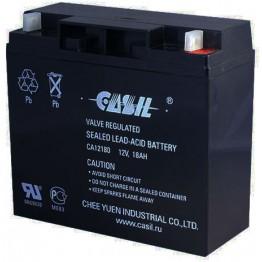 Аккумулятор свинцово-кислотный Casil CA12180 12V, 18Ah