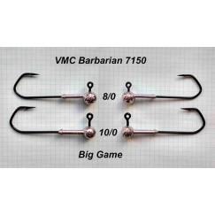 Джиг-головка Cheburahus крючок VMC Barbarian Jig 7150 №8/0 10-20 г