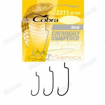 Крючки офсетные Cobra FORCE 2311NSB-***