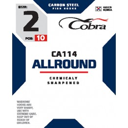 Крючки Cobra Allround CA114