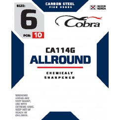 Крючки Cobra Allround CA114G