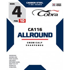 Крючки Cobra Allround CA116