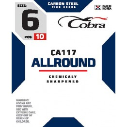 Крючки Cobra Allround CA117