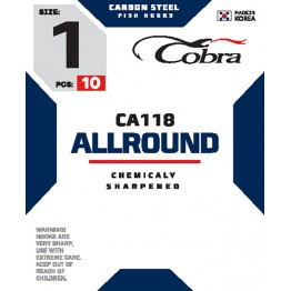 Крючки Cobra Allround CA118