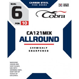 Крючки Cobra Allround CA121MIX
