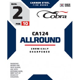 Крючки Cobra Allround CA124