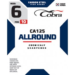 Крючки Cobra Allround CA125
