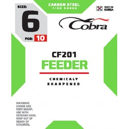 Крючки Cobra Feeder CF201