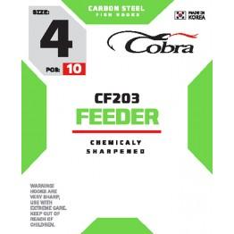 Крючки Cobra Feeder CF203