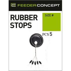 Стопоры резиновые Feeder Concept 003L 5 шт.
