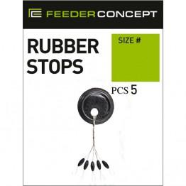 Стопоры резиновые Feeder Concept 001S 5 шт.