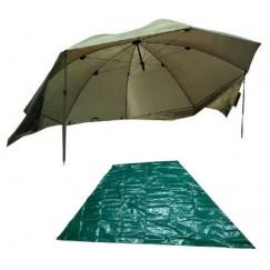 Зонт-палатка Fish2Fish AU-8 250 см с напольным тентом